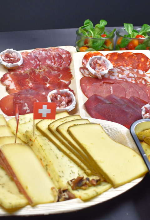 Plateau Fromage Raclette & Charcuterie